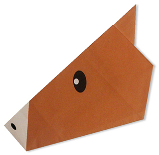 Easy Origami A Horseface