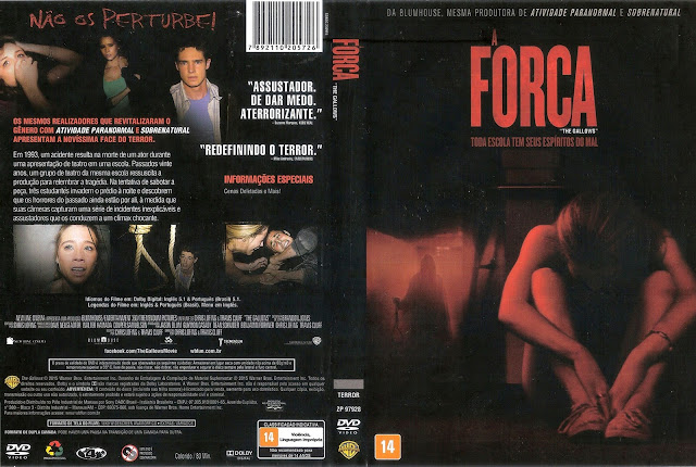 Capa DVD A Forca