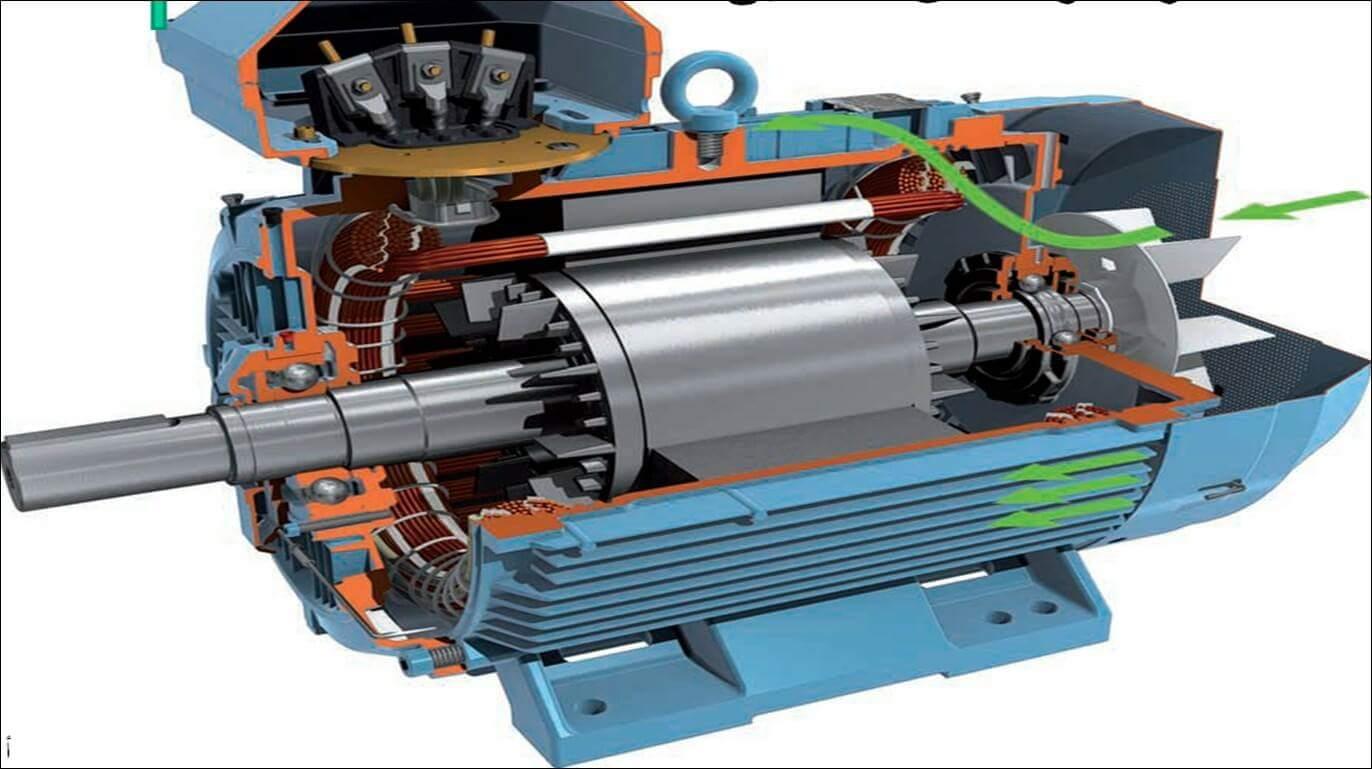 Electric Motor Cutaway Diagram - ~ Wiring Diagram Portal ~ •