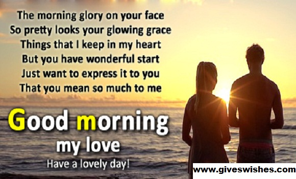 Best 35 Romantic Good Morning Message For Her