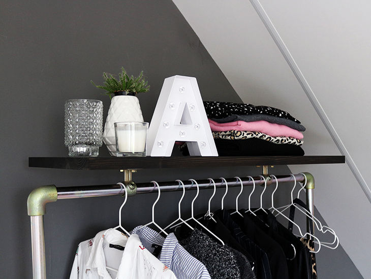 Fashion Attacks interior inspiration update clothes rail Ziito