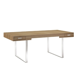Natural Wood Writing Desk