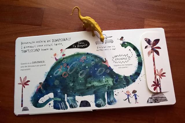 bambini con la passione dei dinosauri