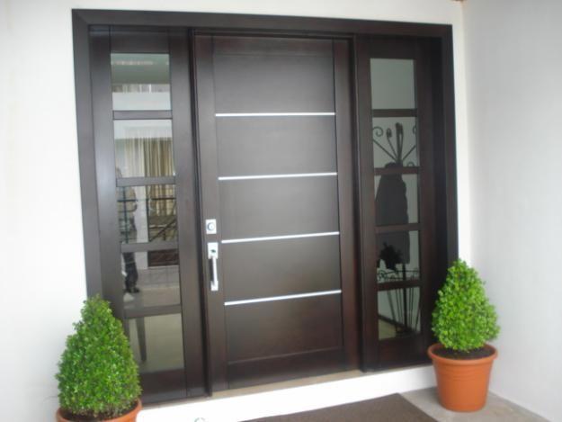 puertas principales de madera decoraci n del hogar