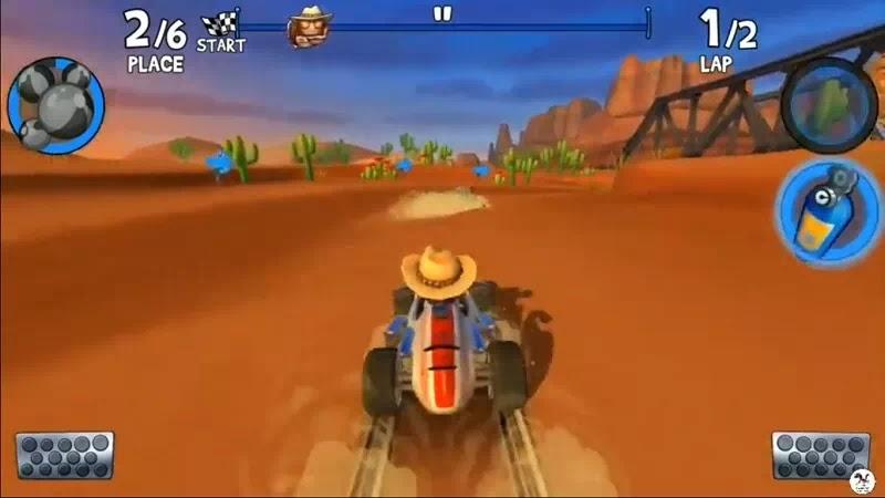 Beach Buggy Racing 2 Mod Apk Unlimited Coins & Dimonds