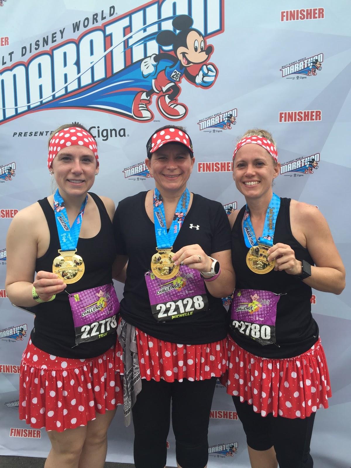 Dopey Challenge Mickey Marathon 2016 Marathon Finishers