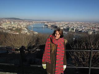DIY costura: El gorro y la bufanda que me abrigaron en Budapest-Vistas desde el Monte Gellert 5