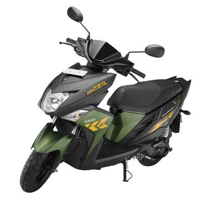 Yamaha Cygnus Ray-ZR Scooter Hd Wallpapers