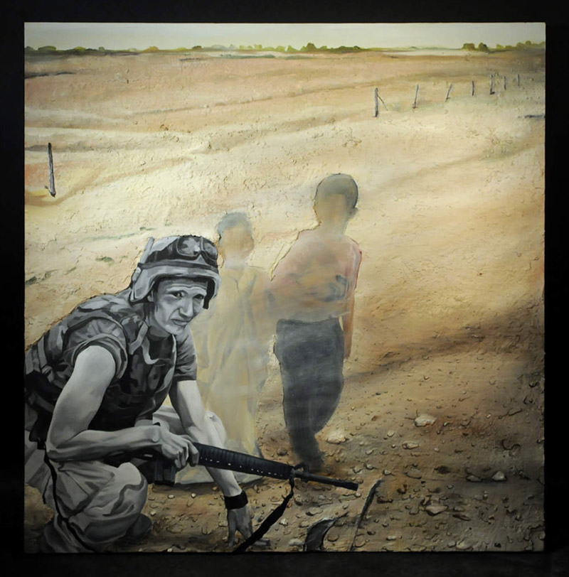Tourist Photographs from Iraq - This is How I Wanted to See Myself by Aaron Hughes