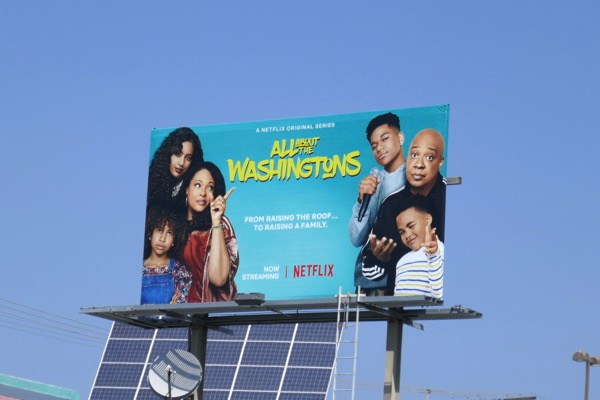 All About Washingtons season 1 billboard