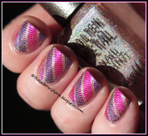 Barry M Molten Metal ~ Holographic Moon