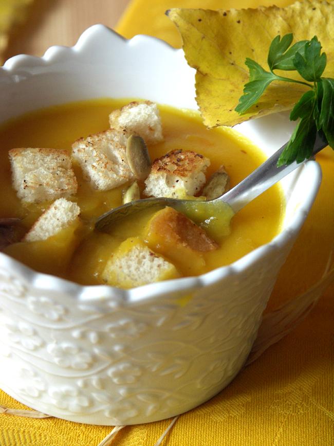 zupa dyniowa z ziemniakami i kuminem