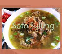 Resep Kuliner Soto Sulung Khas Jawa Timur