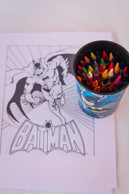 free printable coloring pages for a batman party