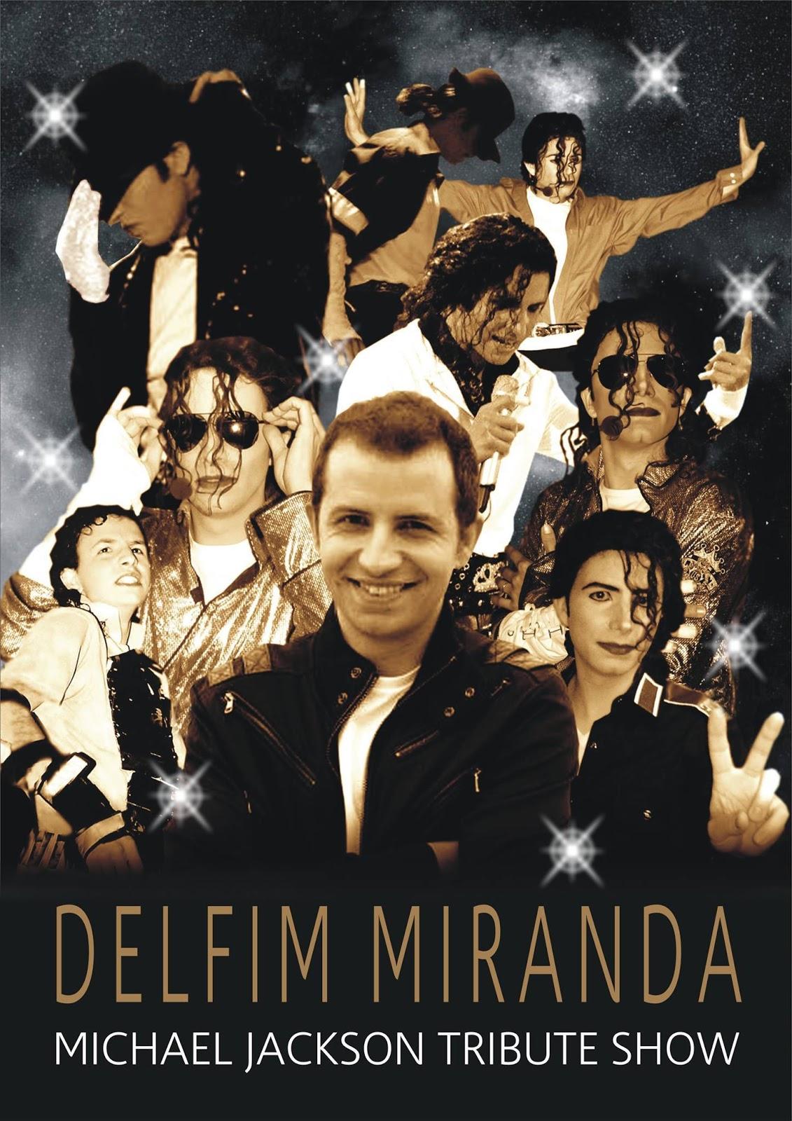 Delfim Miranda - Michael Jackson Tribute Show - Poster by Rui Duarte