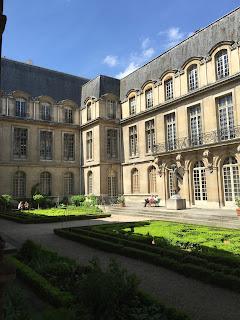 Paris Carnavalet Museum Exterior courtyard