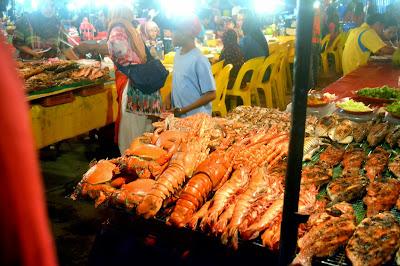 Image result for pasar malam kota kinabalu