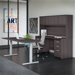 Studio C height adjustable desk