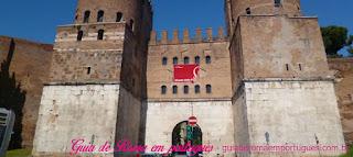 pagina pontos turisticos MUROS AURELIANOS - Pontos turísticos de Roma