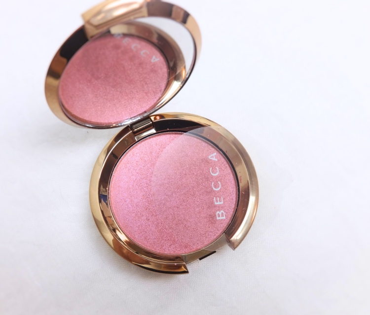 Becca Amethysts Flashes Geode review swatch