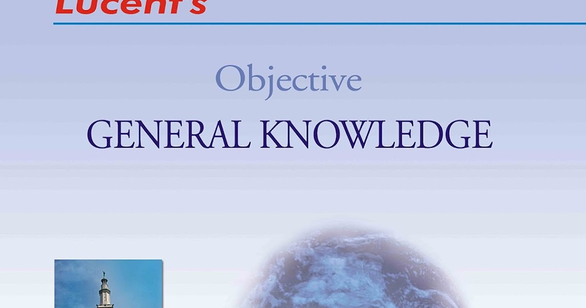Lucent Objective Gk In English Pdf