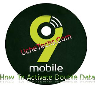 How to Activate 9Mobile 100% Double Data Bonus 2018