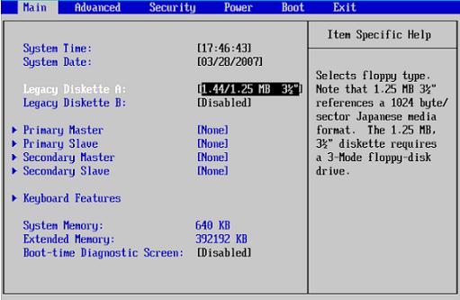 Pengertian BIOS beserta Komponennya