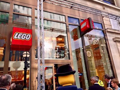 LEGO Store London Opening with Lester and Mayor Sadiq Khan
