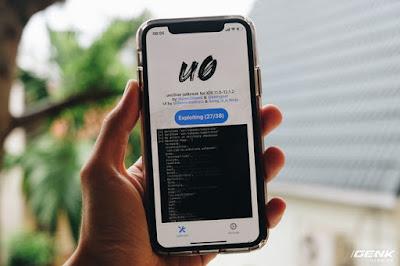 iOS 12 chính thức bị jailbreak, mời tải về công cụ
