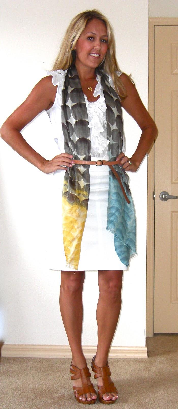 J S Everyday Fashion 6 Ways To Wear Spring Scarves