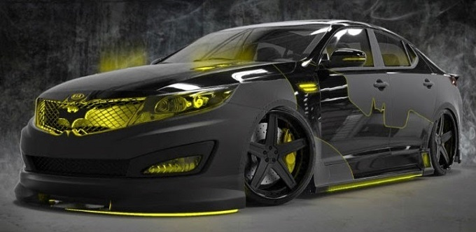 Kia S New Optima Brings You The Ride For Batman