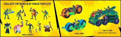 TODOS LOS JUGUETES DE RISE OF THE TEENAGE MUTANT NINJA TURTLES
