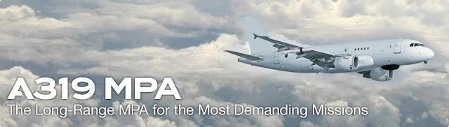 Un sustituto para los aviones de patrulla marítima del Ejército del Aire, el A319 MPA