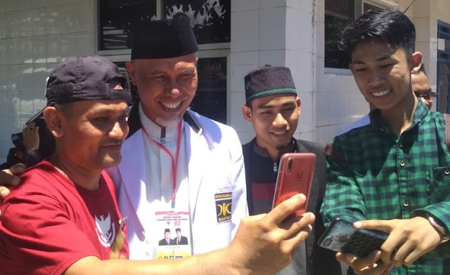 Cuti untuk Kampanye Prabowo, Walikota Padang Targetkan Kemenangan 80 Persen
