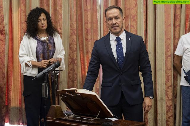 Mariano Hernández Zapata, nuevo presidente del Cabildo de La Palma