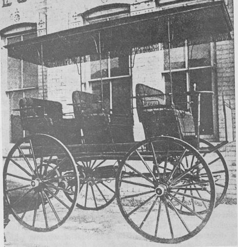 1890 Or 91 William Morrison Of Des Moines Iowa Builds The First Successful Electric Automobile In United States