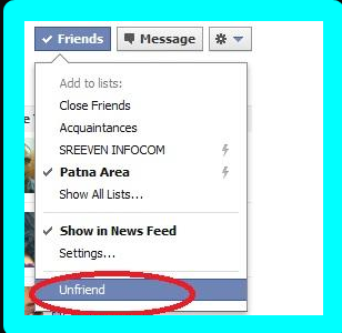 How To Delete Friends From Facebook
