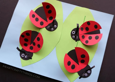 How To Make Cute Ladybug Craft