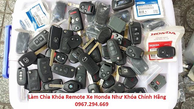 Dịch Vụ sửa Khóa Xe Hơi Honda Chuyên Nghiệp