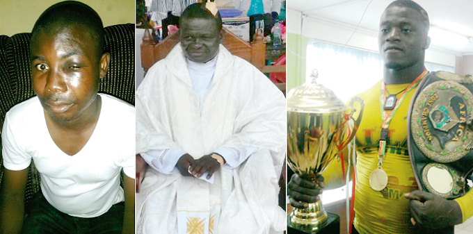 2013 Ghana's 'Most Strongest' assaults two priests