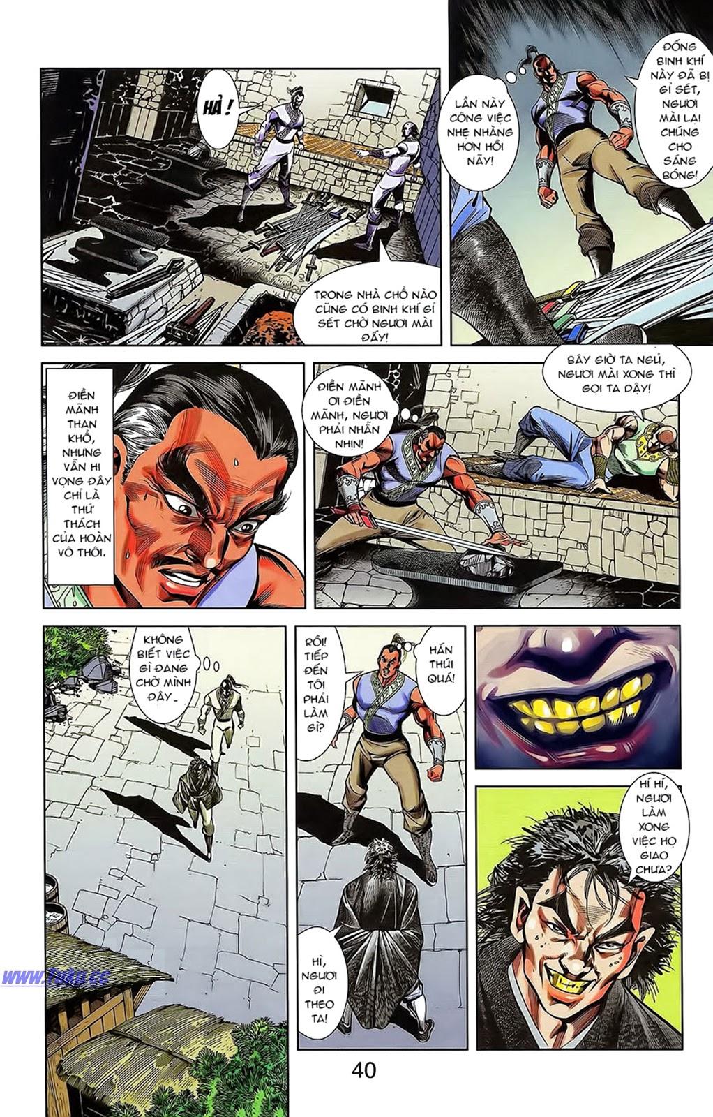 Tần Vương Doanh Chính chapter 15 trang 14