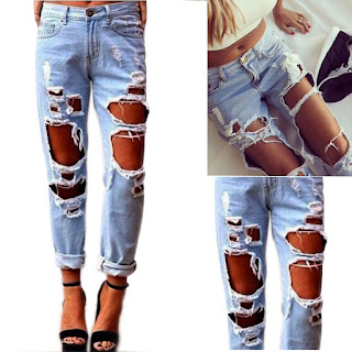 Aliexpress destroyed jeans