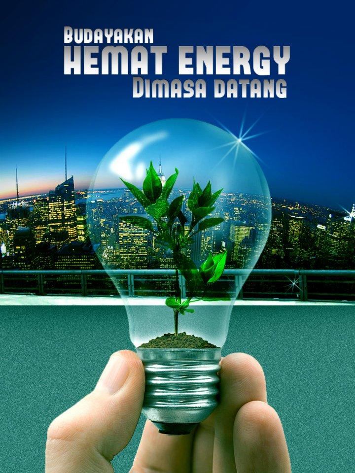 5 Contoh Poster Hemat Energi Listrik Terbaru   Tato Dan Poster
