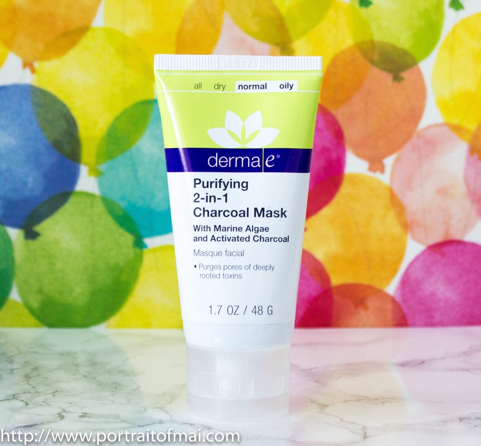 derma e purifying charcoal mask review