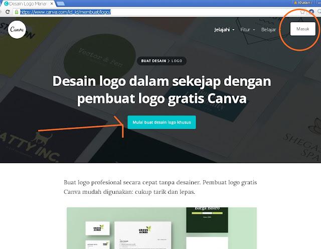 Cara Membuat Logo Keren Secara Online Dengan Canva