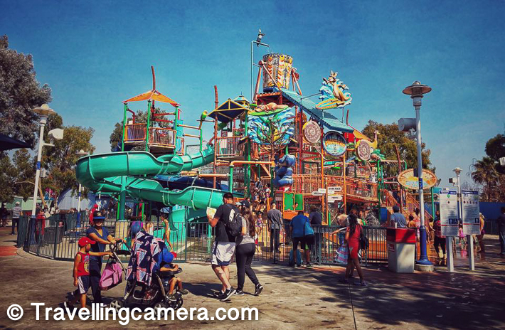 We loved roaming around California's Great America and exploring some of it's interesting rides, although I may not plan another visit to this place. Having said that it's awesome place for people who love water activities, adventure rides or planning some outdoor activities with kids.