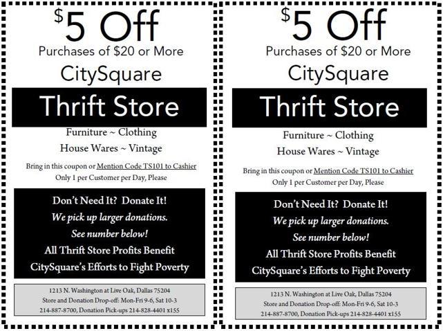 Larry James Urban Daily Citysquare Thrift