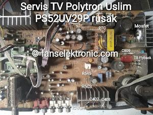 mengatasi tv polytron ps 52uv29p