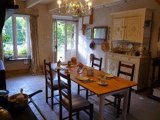 Normandy farmhouse kitchen