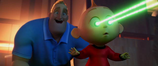 Incredibles 2 Jack-Jack laser eyes screencap